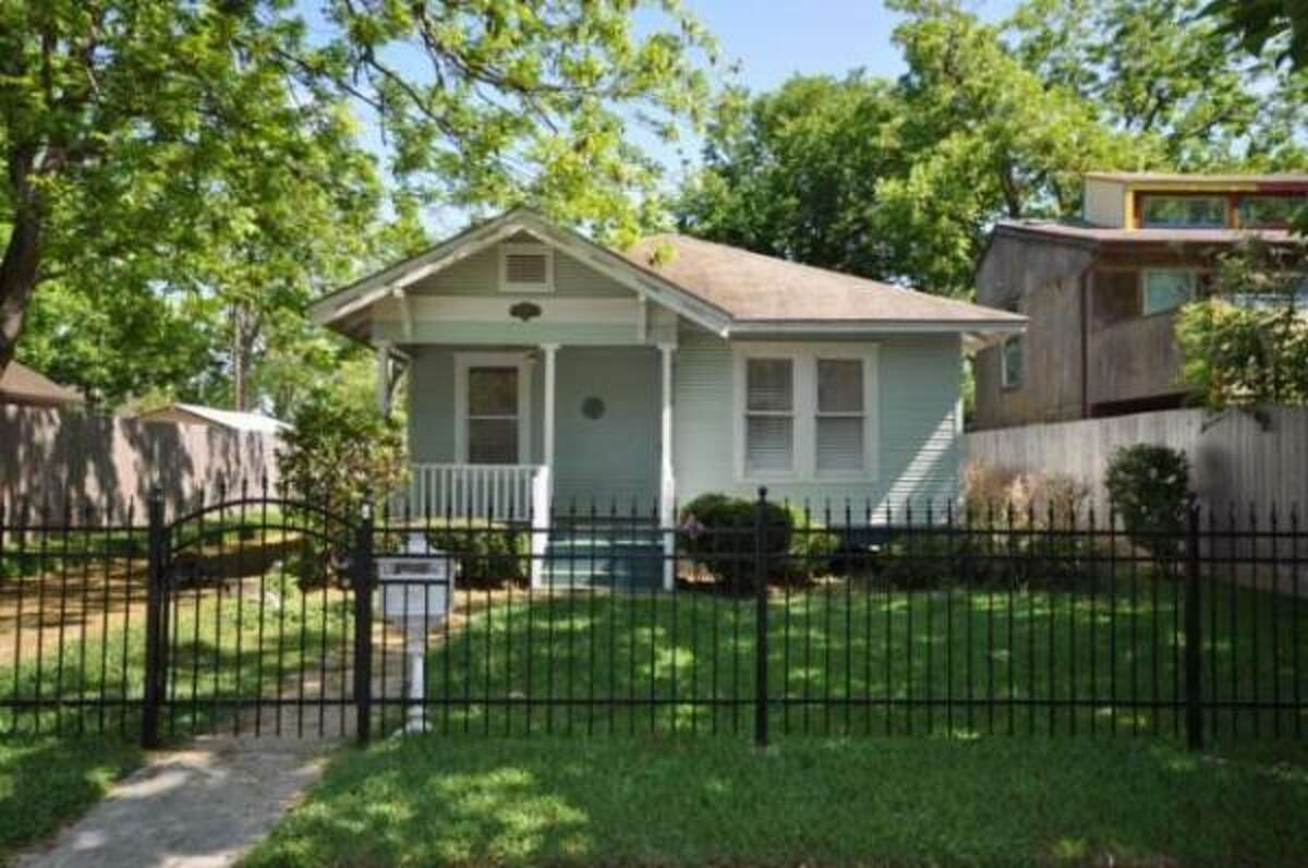 This 1920s bungalow has three bedrooms, two baths and sits in a fully-fenced yard. It's on the market for $225,000. See more details and photos here.