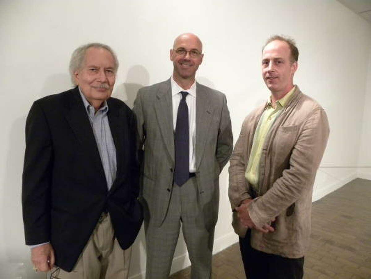 Larry Bell, Patrick Peters and Garrett Finney