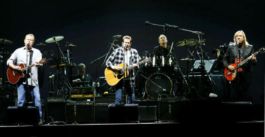 Don Henley, left, Glenn Frey and Joe Walsh Photo: Karen Warren, Chronicle