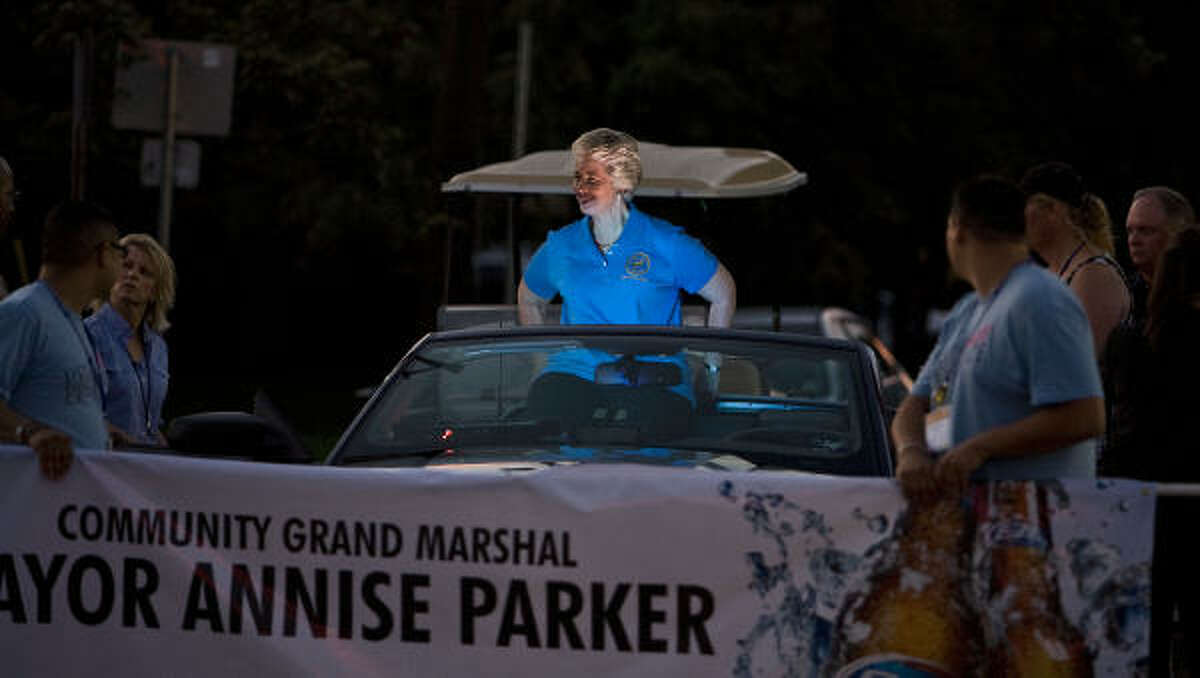 Mayor Annise Parker as Honorary Community Grand Marshal
