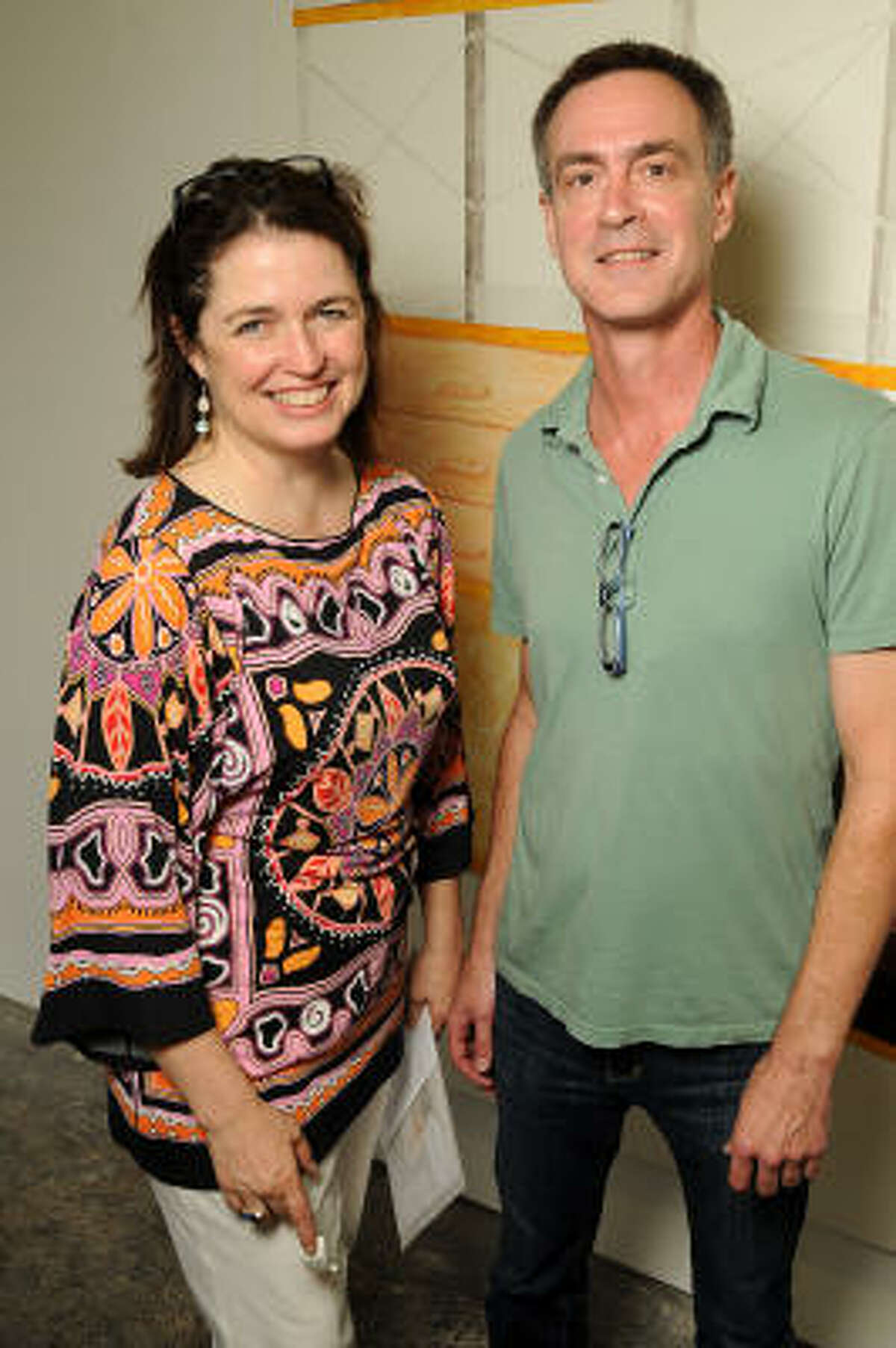 Kerry Inman and Patrick Reynolds