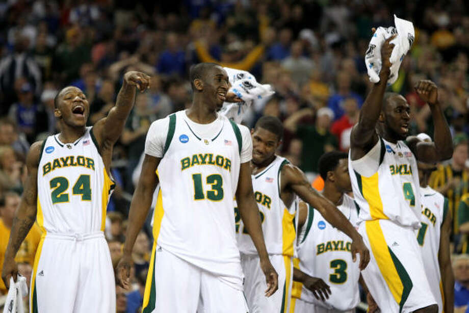 Baylor aims for its first Final Four in 60 years, facing a Duke team in the Elite Eight for the first time since 2004. Photo: Nick De La Torre, Chronicle