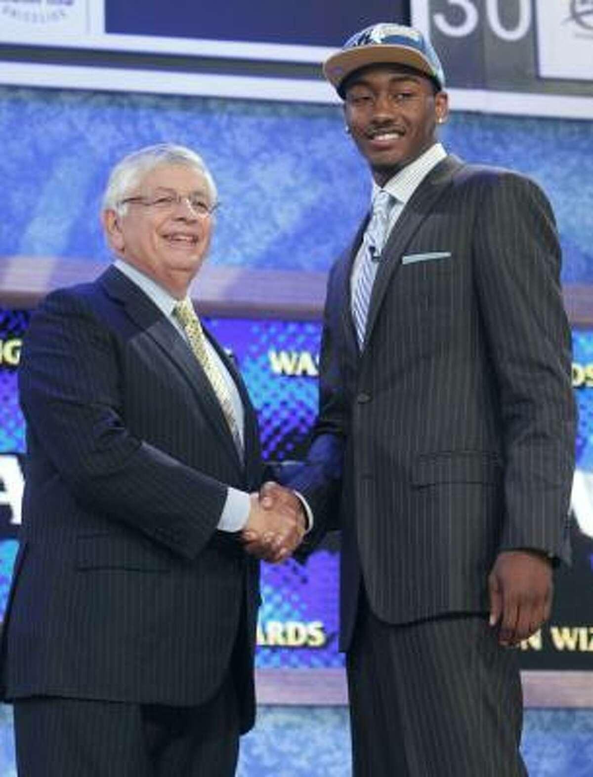 Pick No. 1: John Wall Wizards, G, 6-4, Kentucky