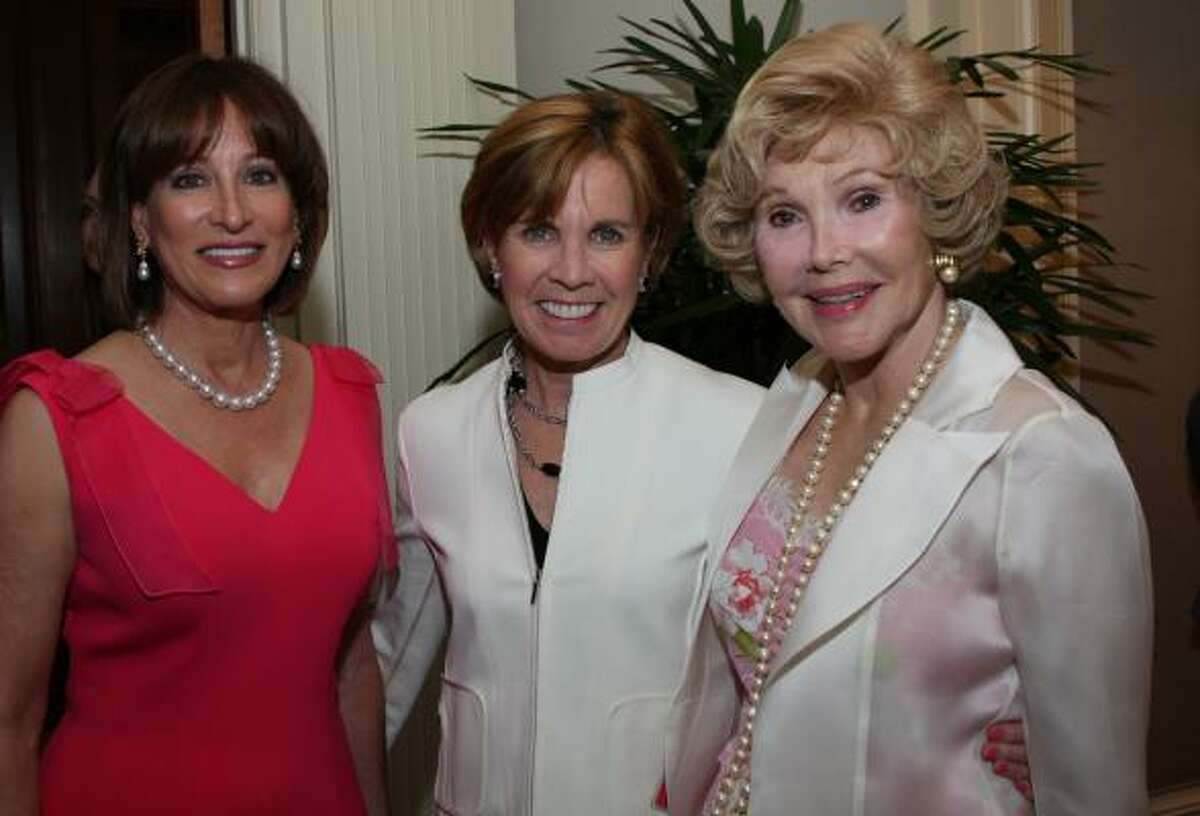 Janiece Longoria, Maureen Hackett and Joanne King Herring