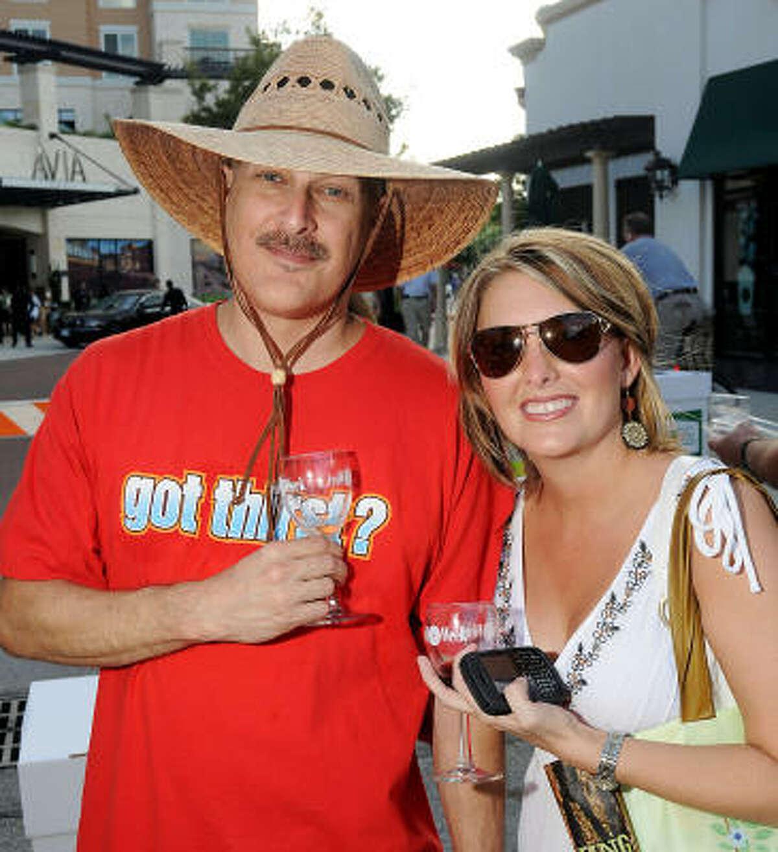 David Jackson and Presha Carr