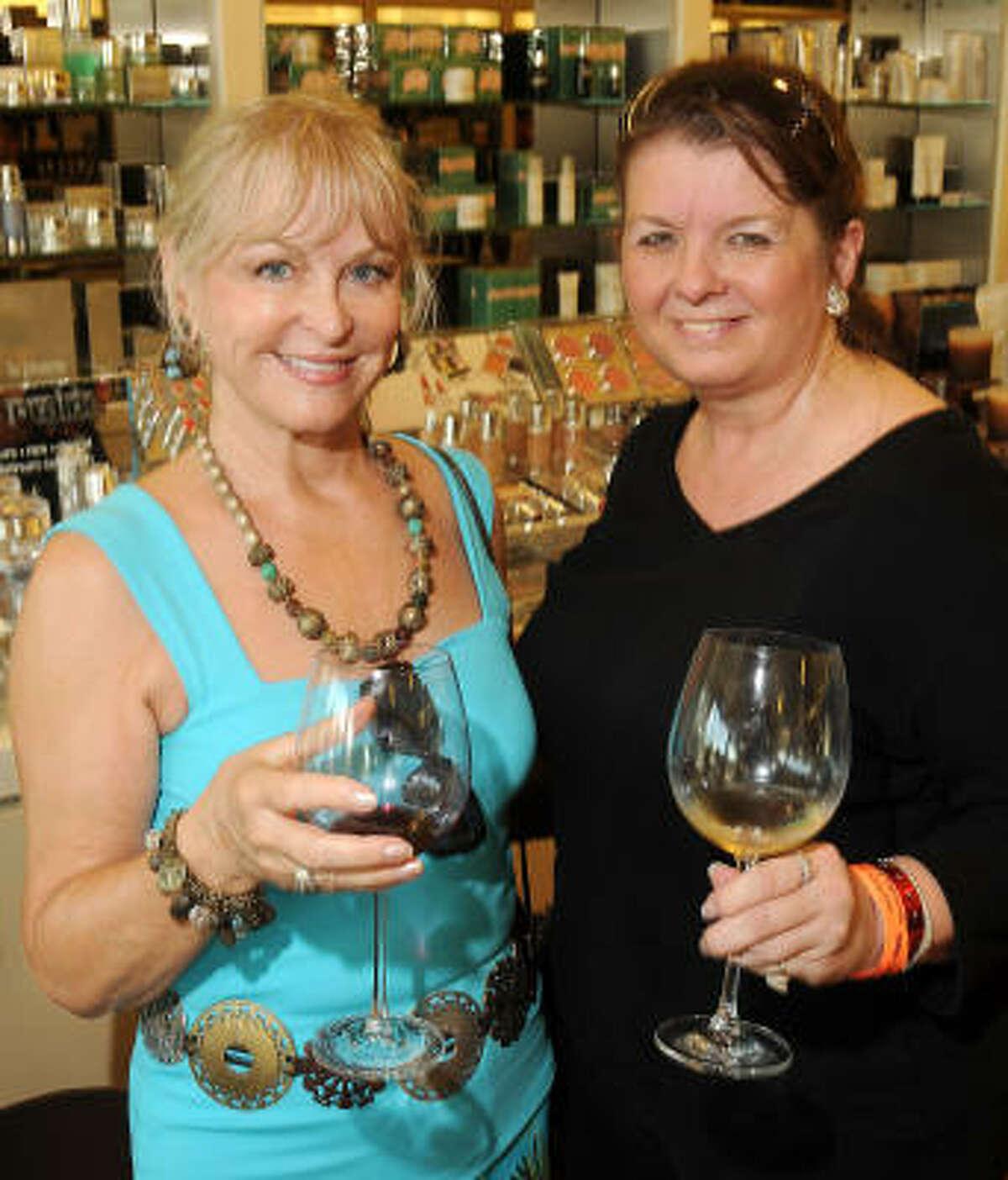 Karen Laukaitos and Vicky Alamadi
