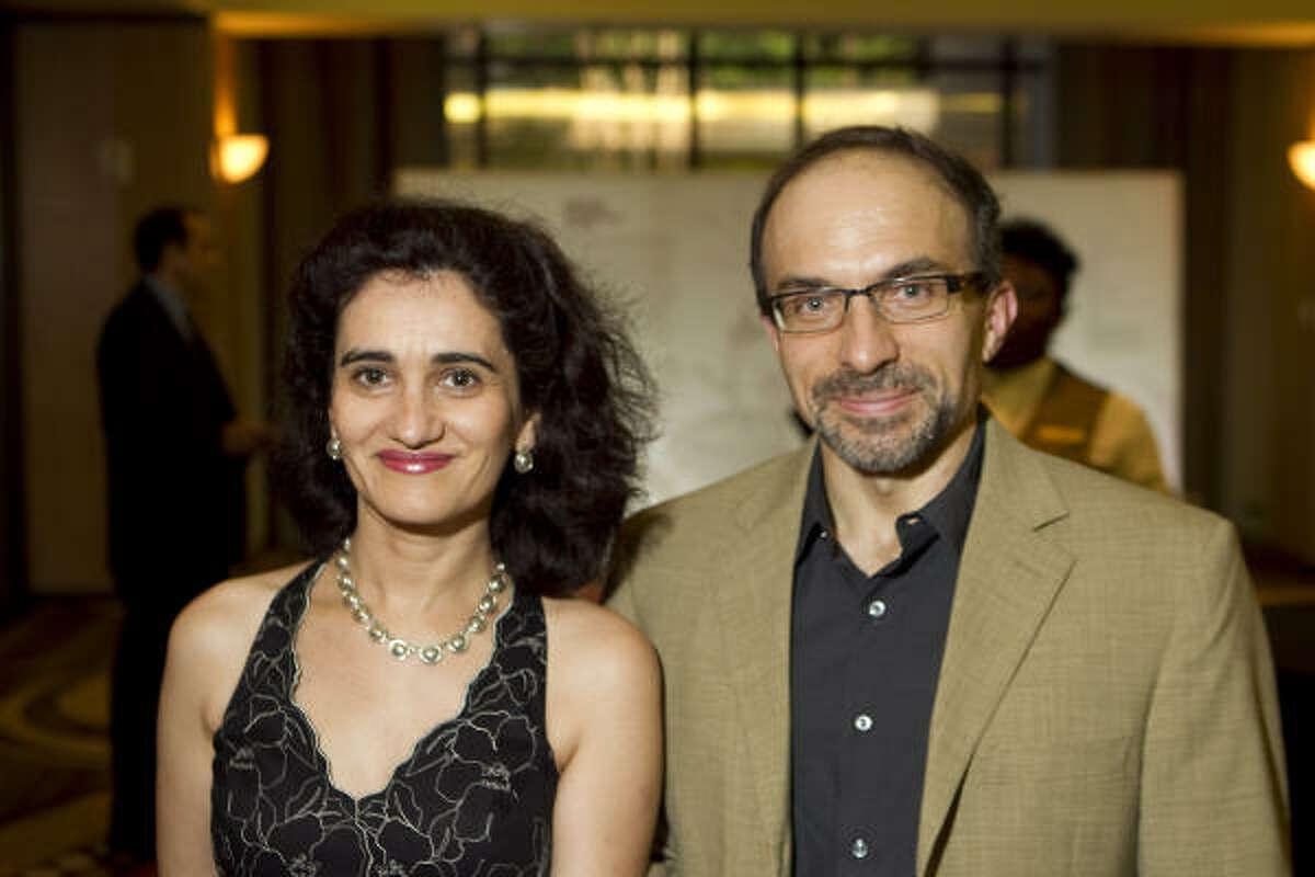 Eugenia Ruiz and Victor Prieto