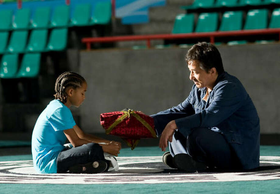 The Karate Kid, $29 million Jaden Smith and Jackie Chan revive the 1980s classic. Photo: Columbia Pictures