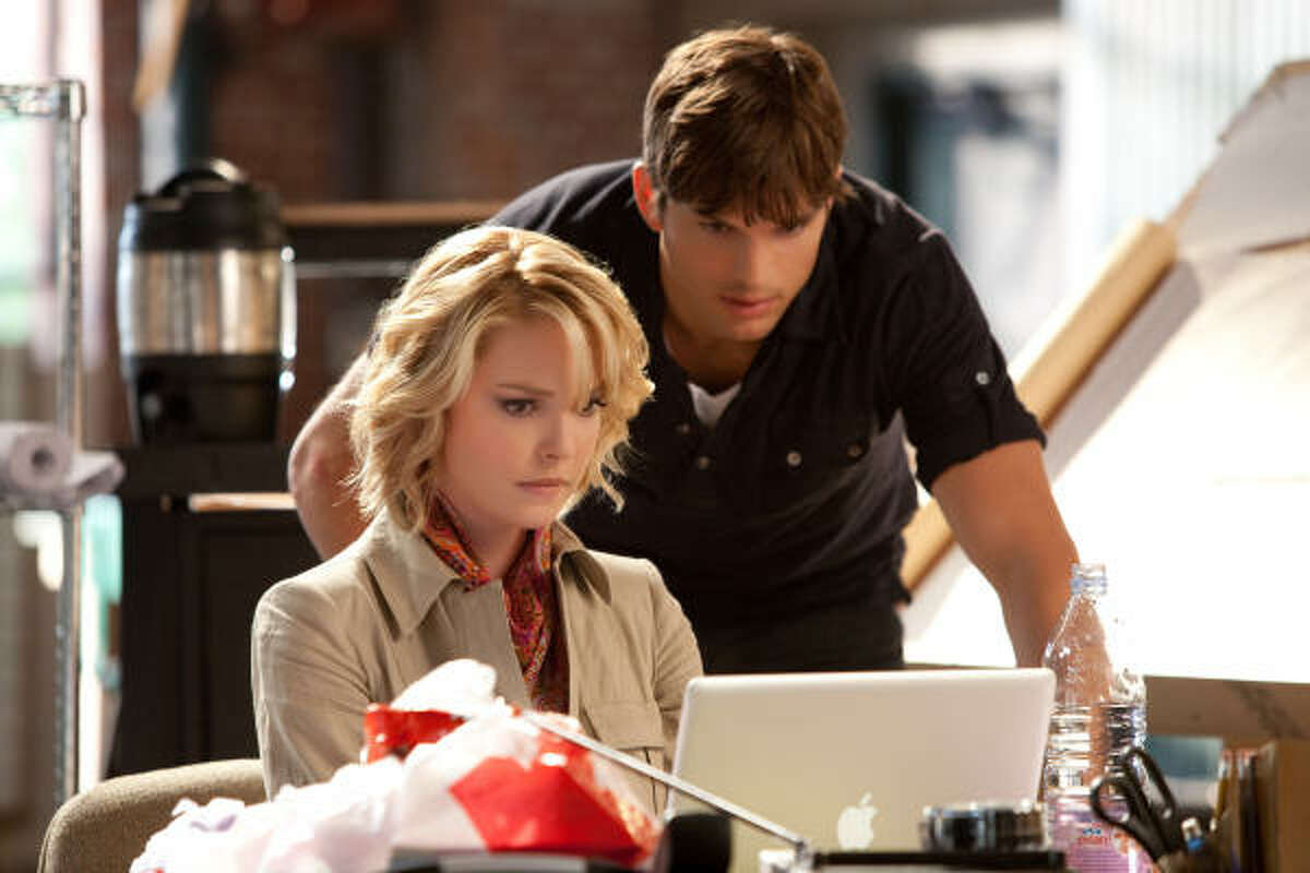 Killers , $5.1 million Katherine Heigl and Ashton Kutcher star in an action comedy about love, marriage and serious firepower.