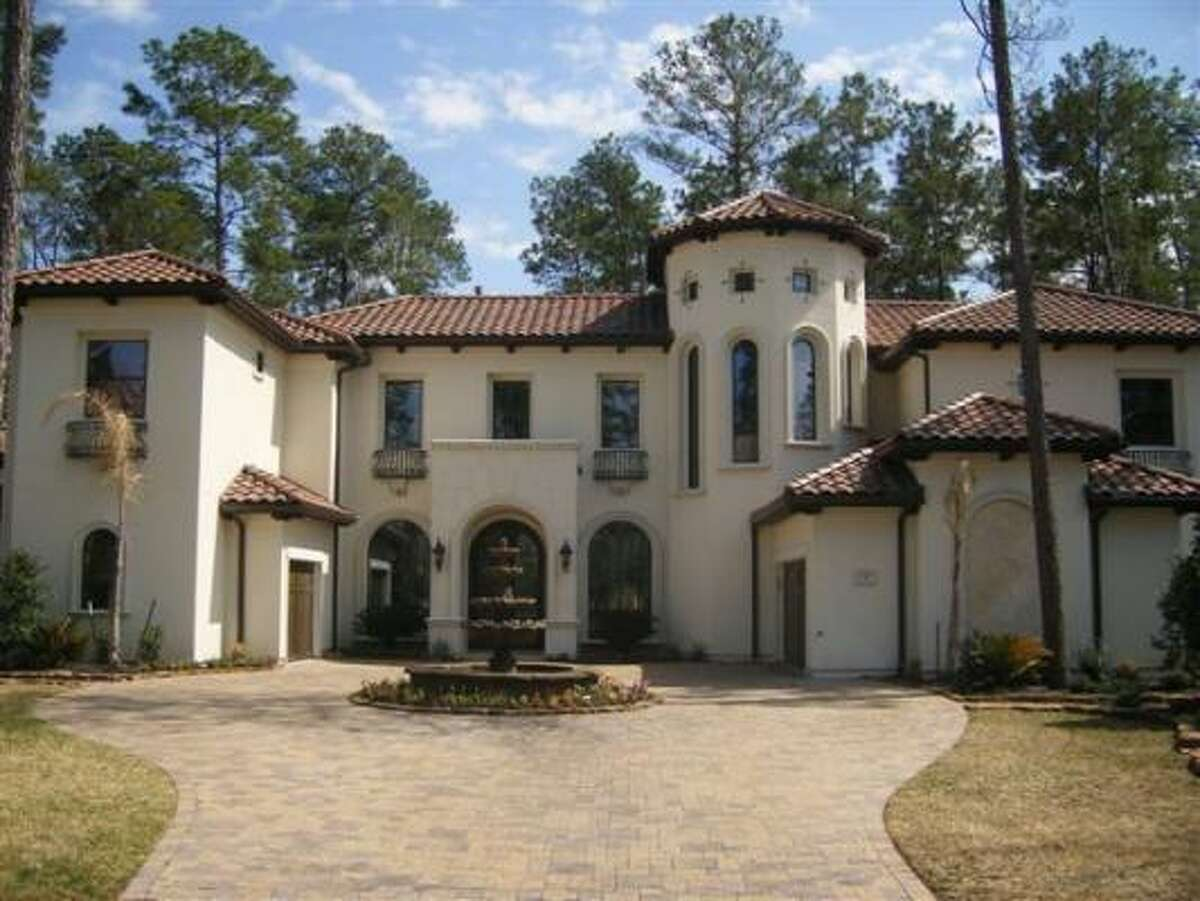 It's $1,874,000 for this five bedroom, 5.5 bathroom home inside the Carlton Woods gated community. See the inside here.