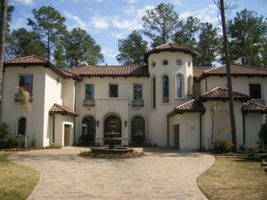 It's $1,874,000 for this five bedroom, 5.5 bathroom home inside the Carlton Woods gated community. See the inside here. Photo: Carlton Wood Properties