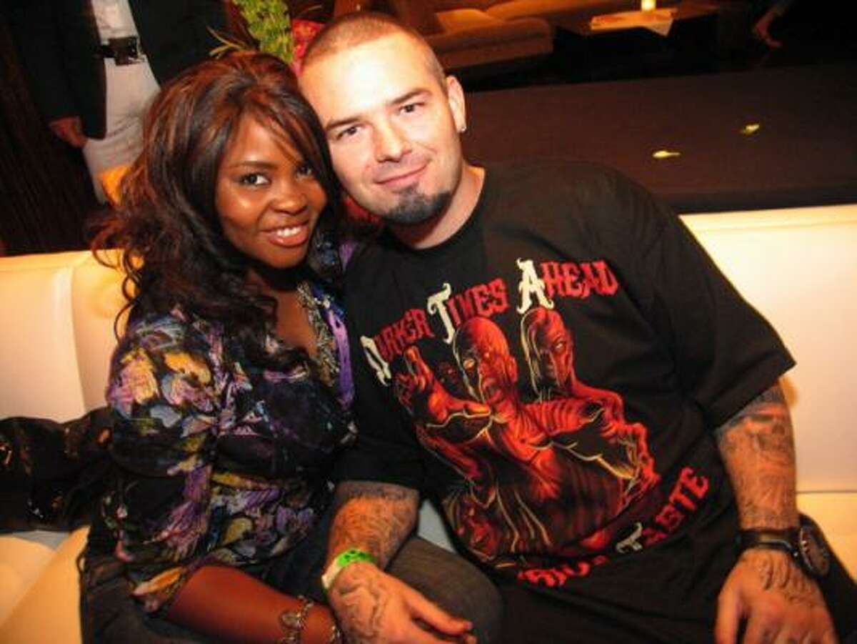 Paul Wall and his wife Crystal