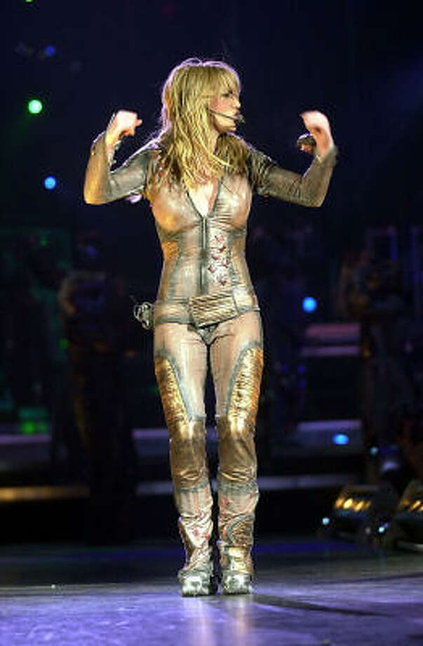 She wore skin-tight everything and shook it all for fans. Photo: MELISSA LYTTLE, AP