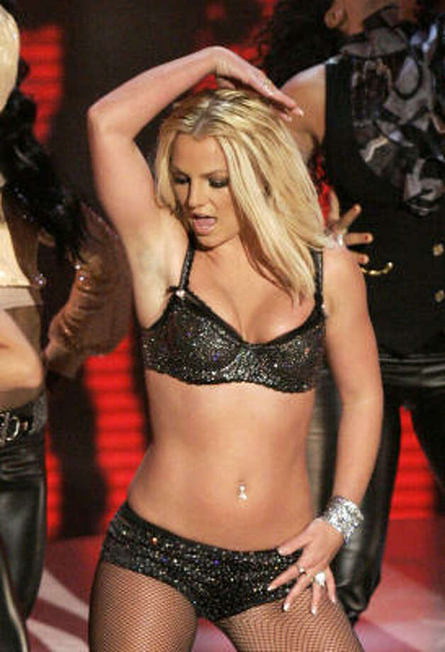 In the years following her pregnancies and subsequent divorce she put on a few pounds and fans missed the old Britney. This performance at the 2007 MTV Video Music Awards was hailed as her comeback. She failed. Photo: Mark J. Terrill, AP