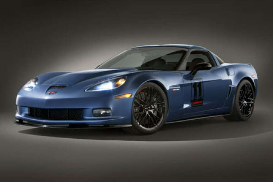 2011 Corvette Z06 Carbon Limited Edition – This 'Vette takes track-to-street technology transfer to a high level. It's a tribute to the 50th anniversary of Corvette's first race in the 24 Hours of LeMans. Photo: Chevrolet