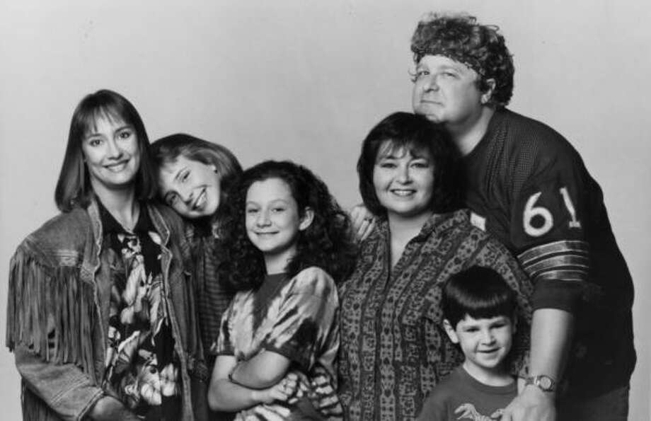 """Roseanne"" reruns, starting at noon on LOGO. Photo: ABC Photography, Capital Cities/ABC, Inc C1989"