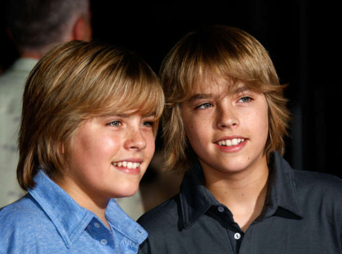 Actors Cole Sprouse and Dylan Sprouse on Disney's The Suite Life know how to make the 'do look downright wholesome.