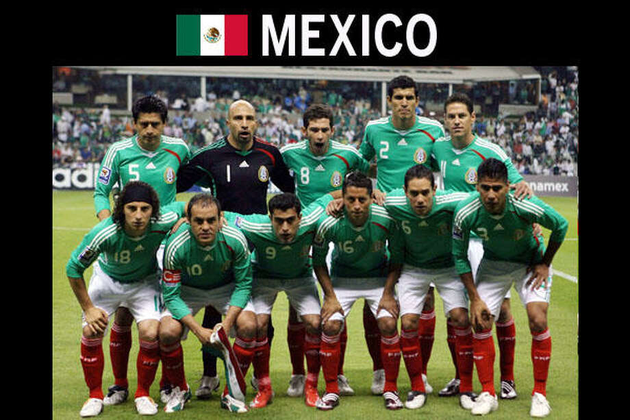 GROUP A• Coach: Javier Aguirre• Key players: Rafael Marquez, Giovani dos Santos, Andres Guardado, Javier Hernandez.• Top recent wins: Beat the U.S. 2-1 last Aug. 12 in a crucial World Cup qualifier. That victory was three weeks after Mexico beat the U.S. 5-0 for the Gold Cup championship last July.• Best World Cup moment: Mexico reached the quarterfinals twice, in 1970 and 1986, both as hosts of the tournament. With goals from Manuel Negrete and Raul Servin, Mexico beat Bulgaria to advance to the quarterfinals.• Odds of advancing out of group: Mexico and France are the leaders to make it into the knockout stages out of Group A.• Top non-soccer personality: Father Miguel Hidalgo, who on Sept. 15, 1810, gave the famous Mexican shout of independence, will be remembered often this year as Mexico celebrates its 200th birthday.