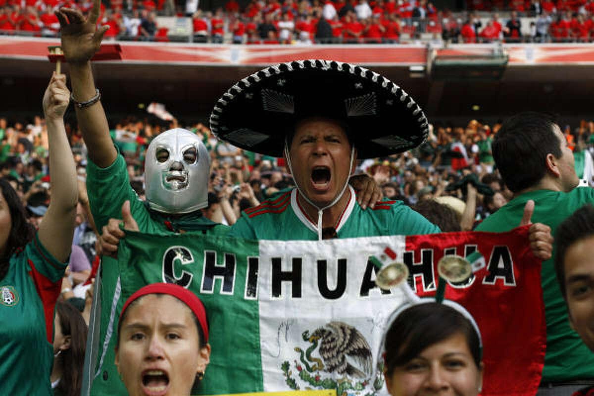 Chihuahua dijo presente en Wembley.