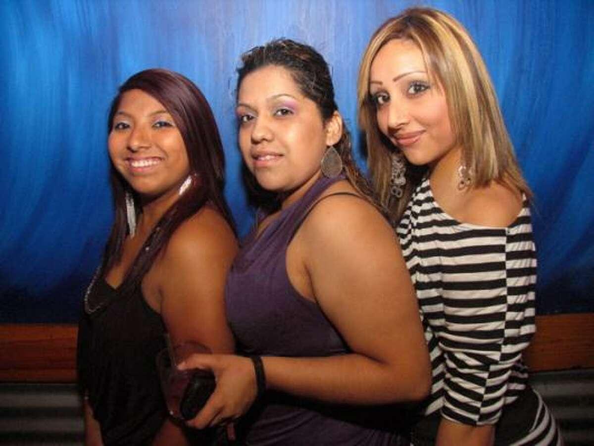 Maria Valle, from left, Cynthia Perez, and Anna Cornado