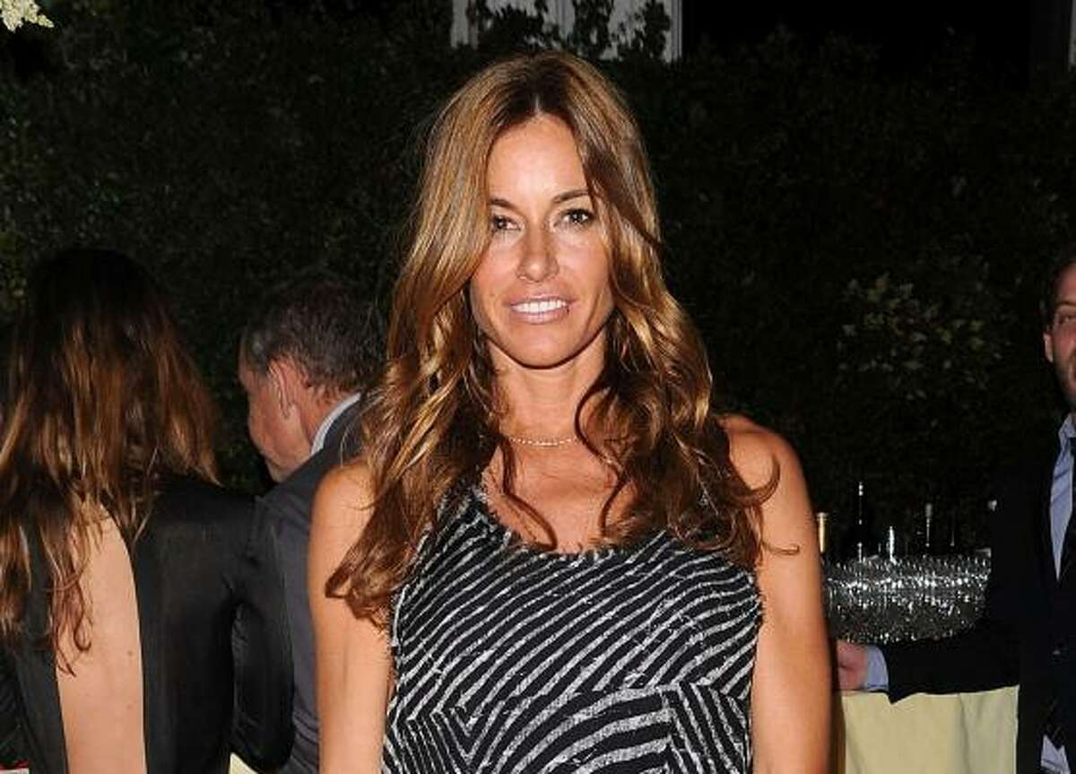 Kelly Bensimon from Real Housewives of New York attends the Whitney Museum Art Party in New York.