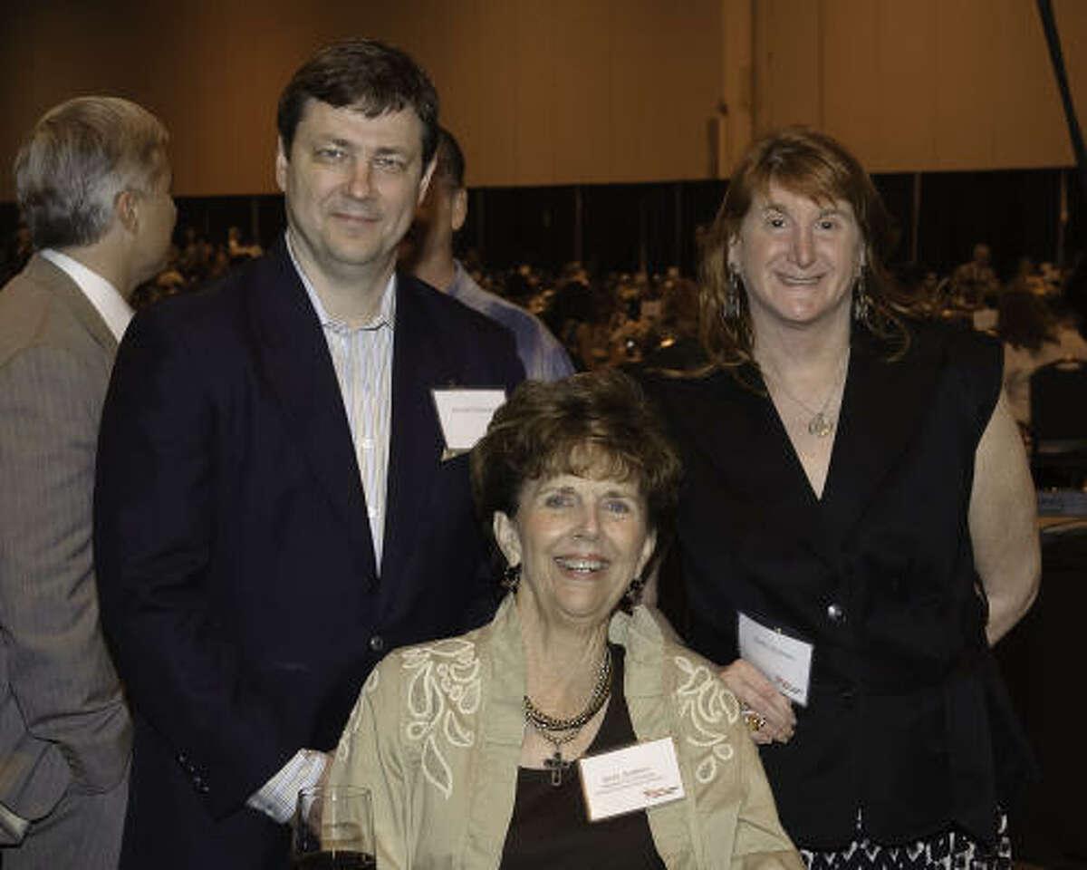 Jerome Mulanax, Jerry Andrew and Shelly Mulanax