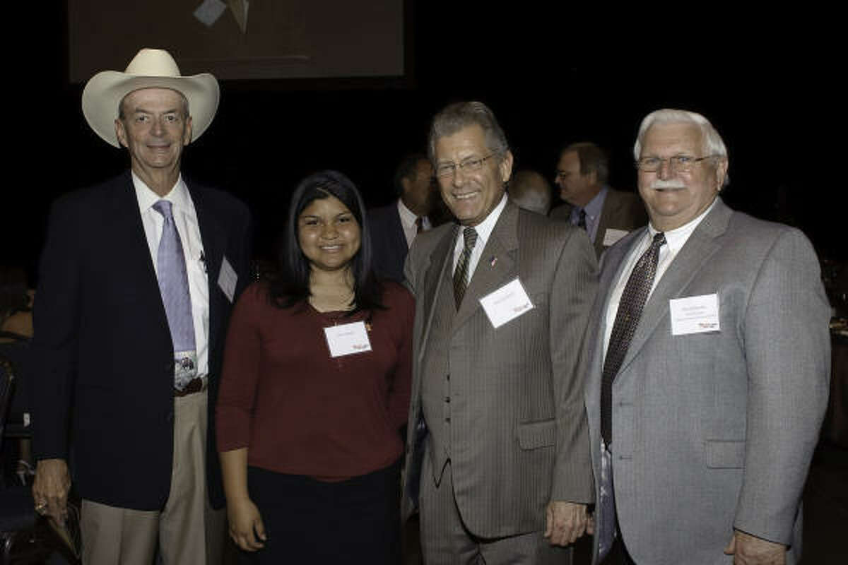 Carruth Gerault, Silvia Mendez, Ken Jacobson and David Boothe