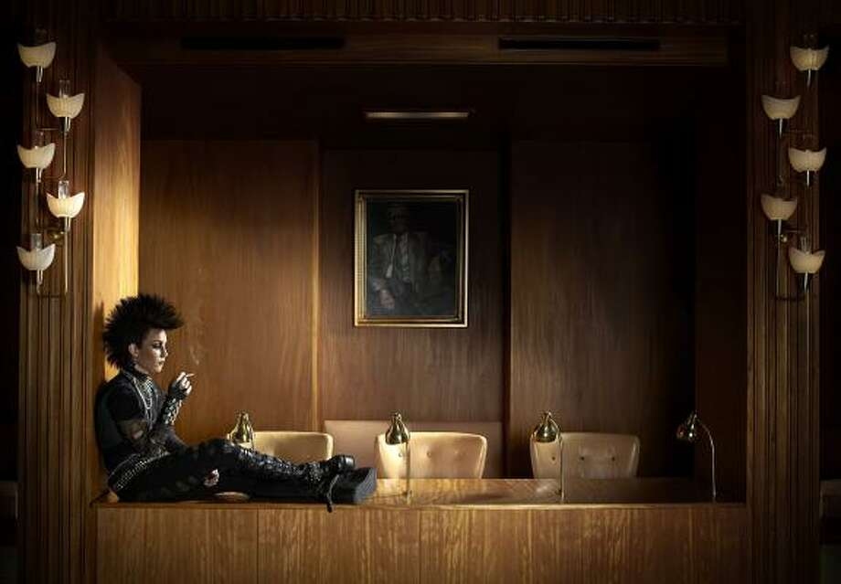 Noomi Rapace as Lisbeth Salander in The Girl Who Kicked the Hornet's Nest. Photo: Music Box Films