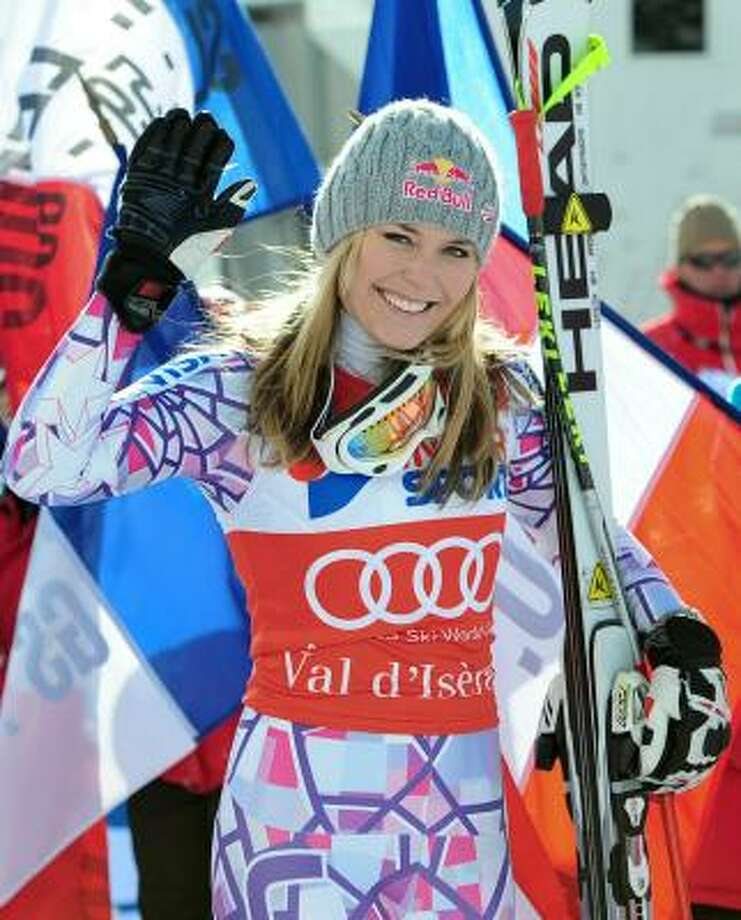Lindsey Vonn was named the 2010 AP Female Athlete of the Year, becoming the first skier — male or female - to win one of the annual AP awards. Photo: FRANCK FIFE, AFP/Getty Images