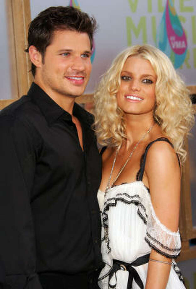 Nick Lachey and Jessica Simpson, Newlyweds Fail: Divorced in 2005  Win: An entire generation learned about tuna and chicken of the sea Photo: Evan Agostini, Getty Images