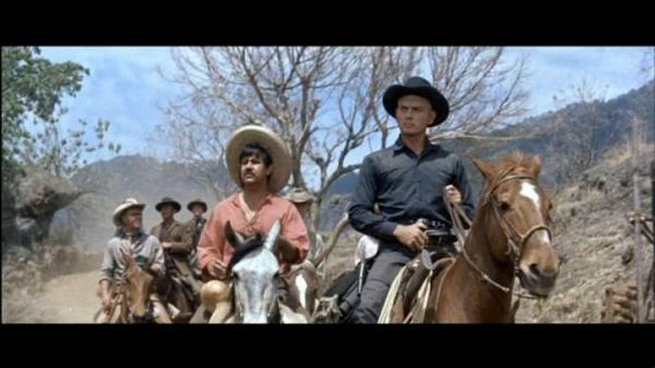 "Movie: The Magnificent Seven (1960) Why it was worth it: Steve McQueen took a few *cough cough* ""sick days"" just to work on this film with Yul Brynner. Photo: OutNow!"