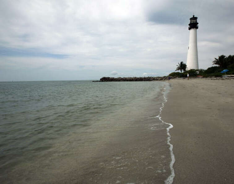 Cape Florida State Park, Key Biscayne, Fla.: alk to the historic lighthouse, climb the 109 steps to