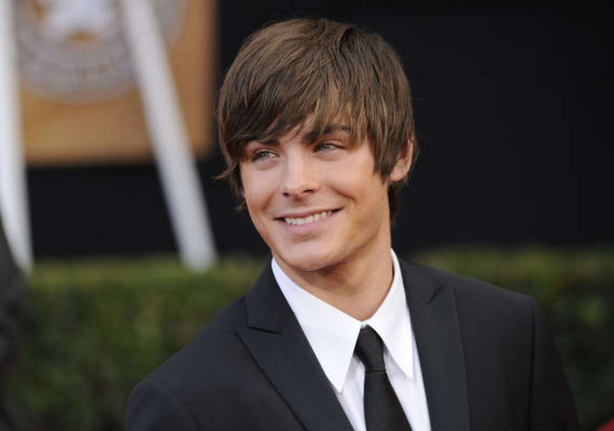 Zac Efron The young heartthrob says he was