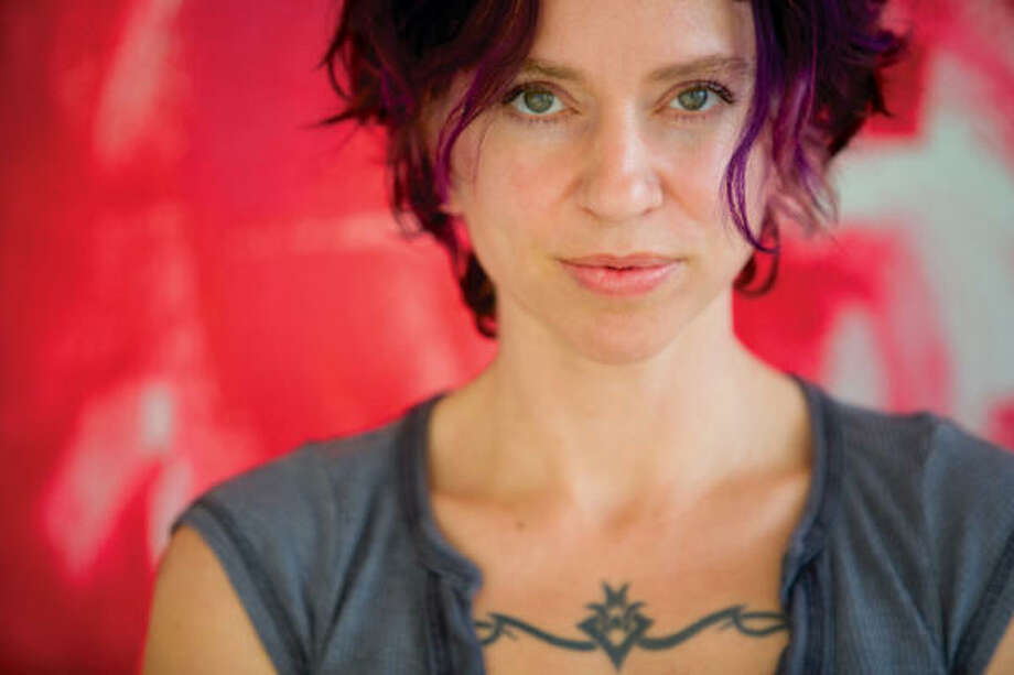 Ani DiFranco's a bit of an activist singer, tackling feminist topics in her music and building community with fans. Photo: Righteous Babe Records