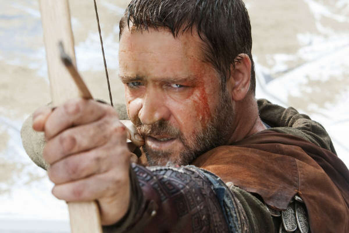 Robin Hood , $5.1 million Remake of the classic tale stars Russell Crowe.