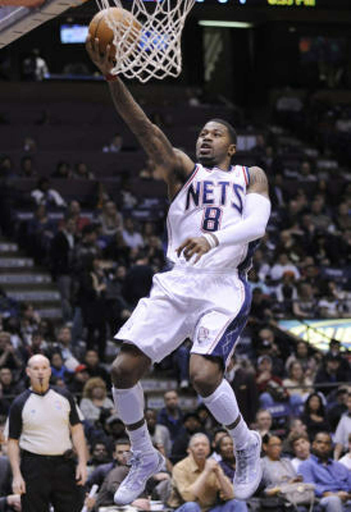 Terrence Williams has struggled this season, averaging just 6.7 points on 39.7 percent shooting in 10 games with the Nets.