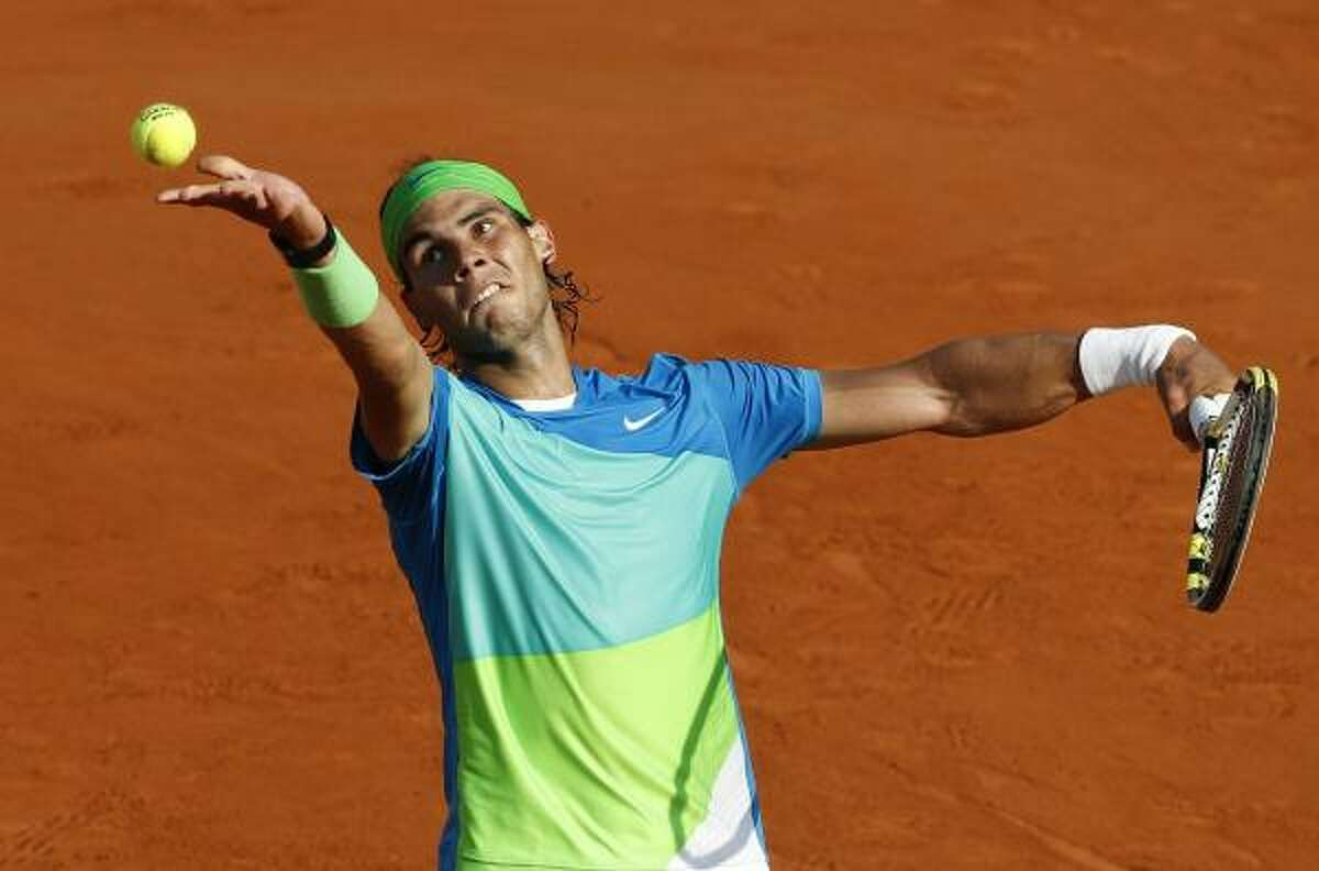 June 4: Semifinals Rafael Nadal beat Jurgen Melzer 6-2, 6-3, 7-6 (6) to advance to the championship round. Nadal will face Robin Soderling.