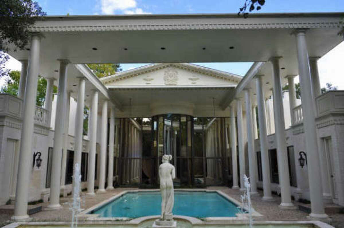 This property boasts a Roman pool colonnade, but you'd also get four bedrooms, four full baths and three half baths. See the complete listing and price here.