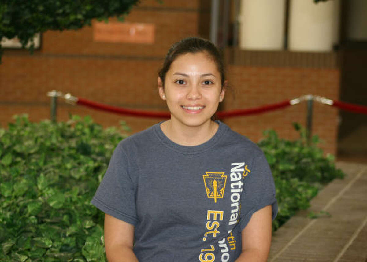 Cynthia Alejandre North Shore High School Valedictorian College: Rice University Career choices: Pediatric medicine