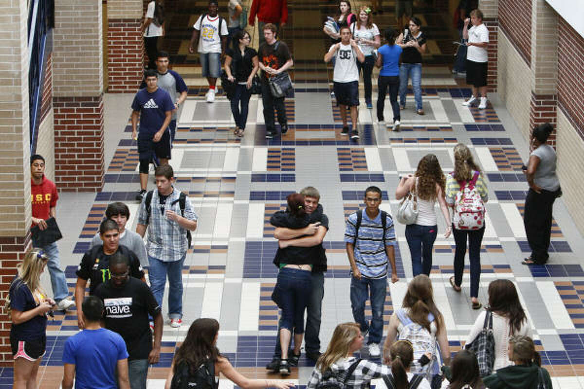 With school underway, students have probably started getting used to the crowded hallways. But do you know which school has the most students rushing to class? Click through to see the biggest schools in Texas.