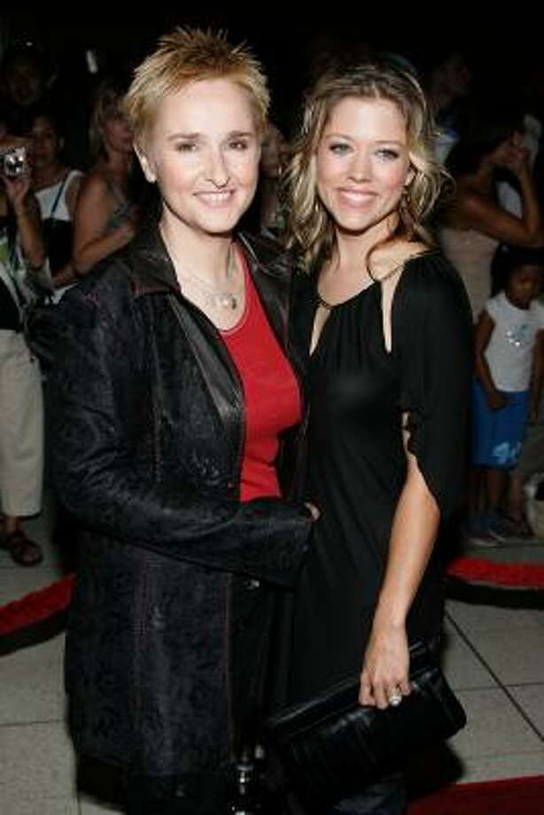 Musician Melissa Etheridge and girlfriend Tammy Lynn Michaels, seen here in 2005, are parents to twins. Photo: Frazer Harrison, Getty Images