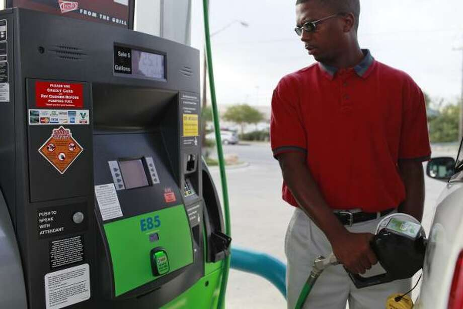 Valero is expanding availability of e85 fuel houston chronicle dwight barron jones fills up with e85 in san antonio the fuel was colourmoves