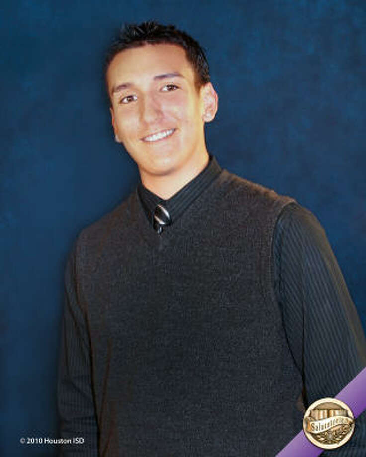 Luis Aranda, Austin High School  Class rank:  Salutatorian;  College:  Texas A&M University  Goal for the Future: Major in civil engineering Photo: Courtesy Of Houston ISD