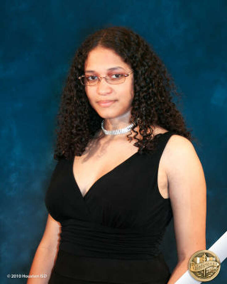 Nina K. López, Davis High School Class rank: Valedictorian;  College:  Goucher College   Career choices: General practitioner/nutritionist to work in rural setting Photo: Courtesy Of Houston ISD