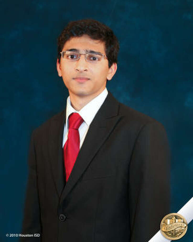 Kshitij Desai, DeBakey High School for Health ProfessionsClass rank: Valedictorian;  College: Yale University, Washington University in St. Louis or MITCareer choices:  Biomedical engineering Photo: Courtesy Of Houston ISD