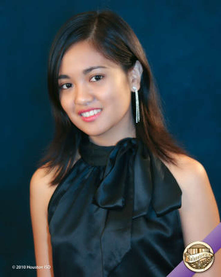 Jennifer Lastimosa, DeBakey High School for Health Professions  Class rank:  Salutatorian;  College:  University of Notre Dame Career choice: Chemistry Photo: Courtesy Of Houston ISD
