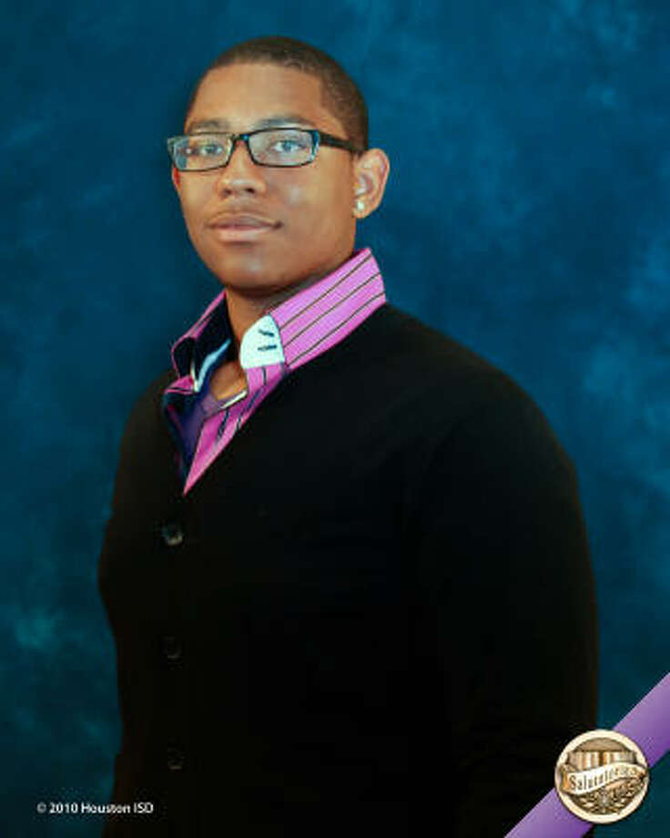 Clarence Mitchell, Empowerment College Preparatory High School Class rank: Salutatorian;  College:  Xavier University Goal for the Future: Study biology and pre-med Photo: Courtesy Of Houston ISD