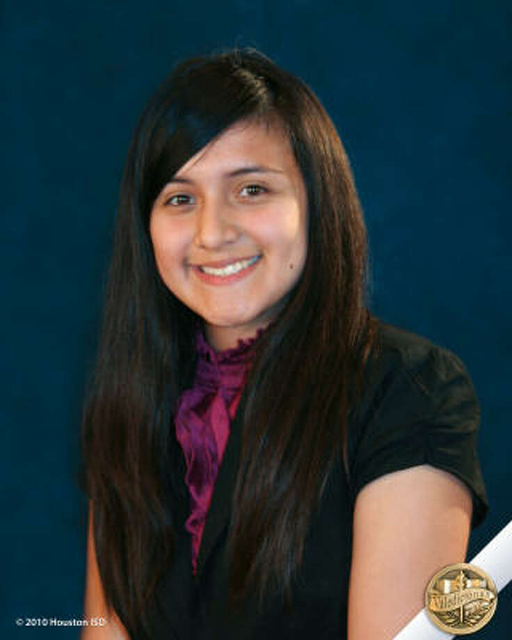 Jennifer Martinez, Houston Academy for International Studies  Class rank:  Valedictorian;  College:  St. Edward's University Career choices: Psychology Photo: Courtesy Of Houston ISD