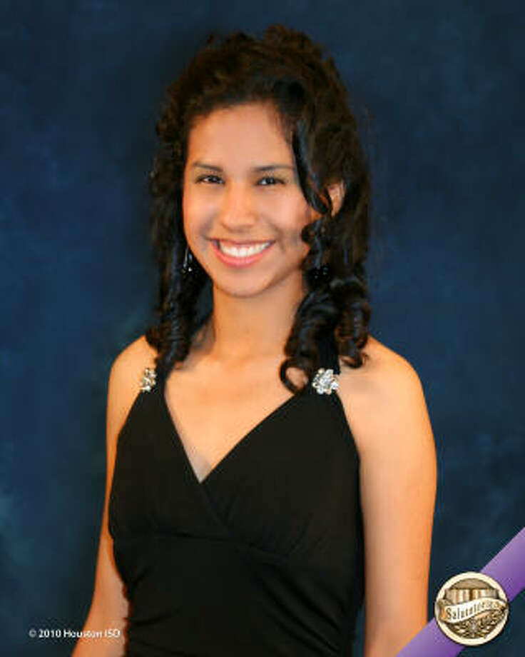 Gabriela Gil, Madison High School Class rank: Salutatorian;  College:  University of Texas at AustinGoal for the Future: Degree in electrical engineering Photo: Courtesy Of Houston ISD