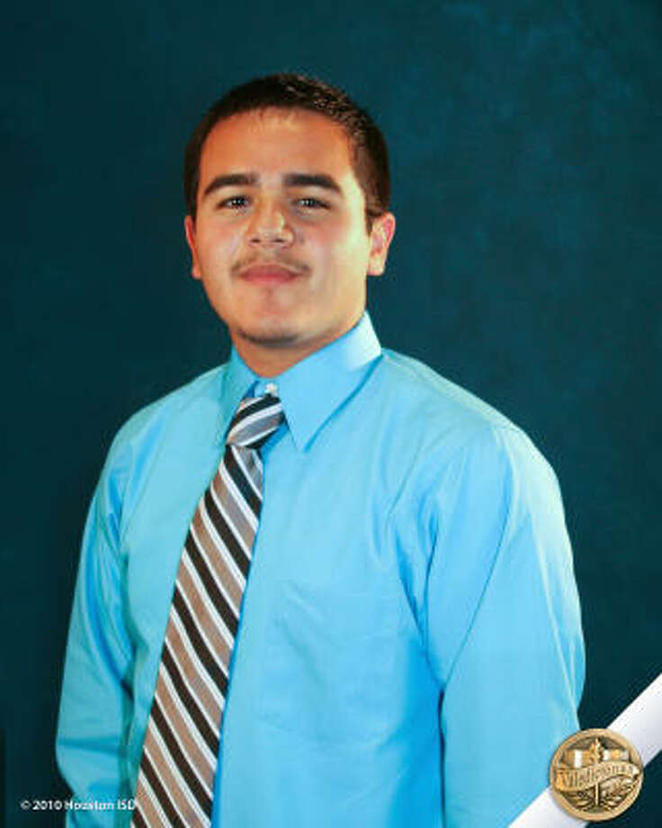 Ivan Avalos, Milby High School  Class rank: Valedictorian;  College:  University of Texas at Austin Goal for the Future: Degree in civil engineering Photo: Courtesy Of Houston ISD